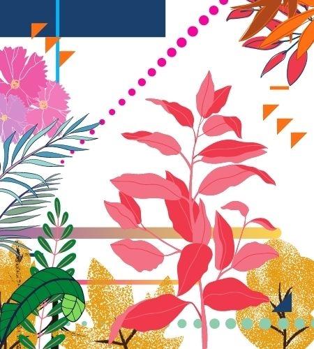 Folhas e Detalhes Geométricos - Marks