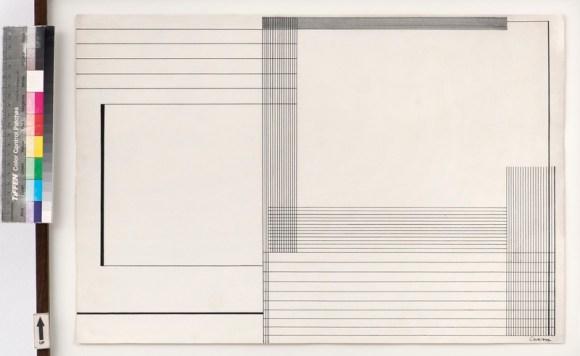 Lothar Charoux - Untitled, 1956. Diálogo Concreto