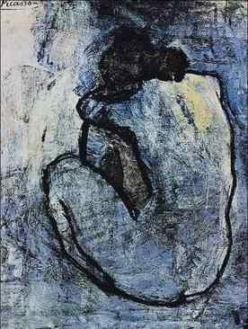 Pablo Picasso. Nu Azul, 1902