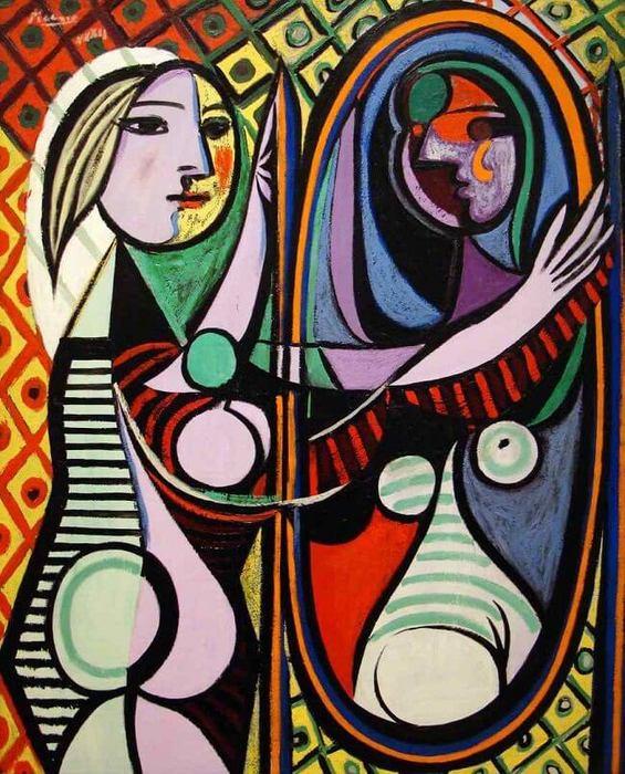 Pablo Picasso. Mulher no Espelho (1932)