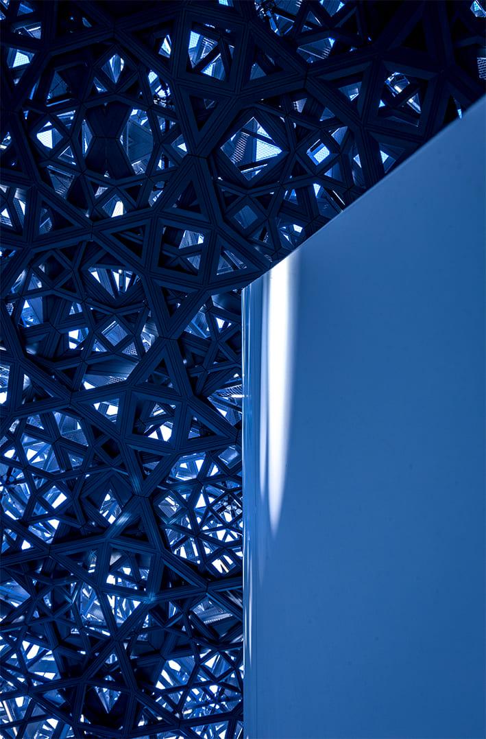 Patrícia Vieira. Deep Blue / The Dark Blue Roof V
