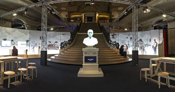 exposição Pasteur, o Cientista ;Criador: philippe levy Direitos autorais: www.philippelevy.net