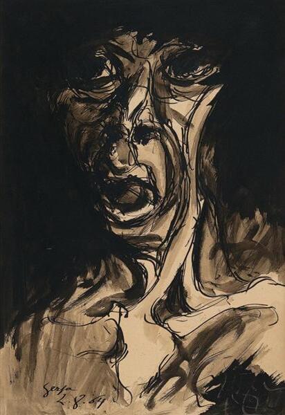 Ivan Serpa - Fase Negra (1954)