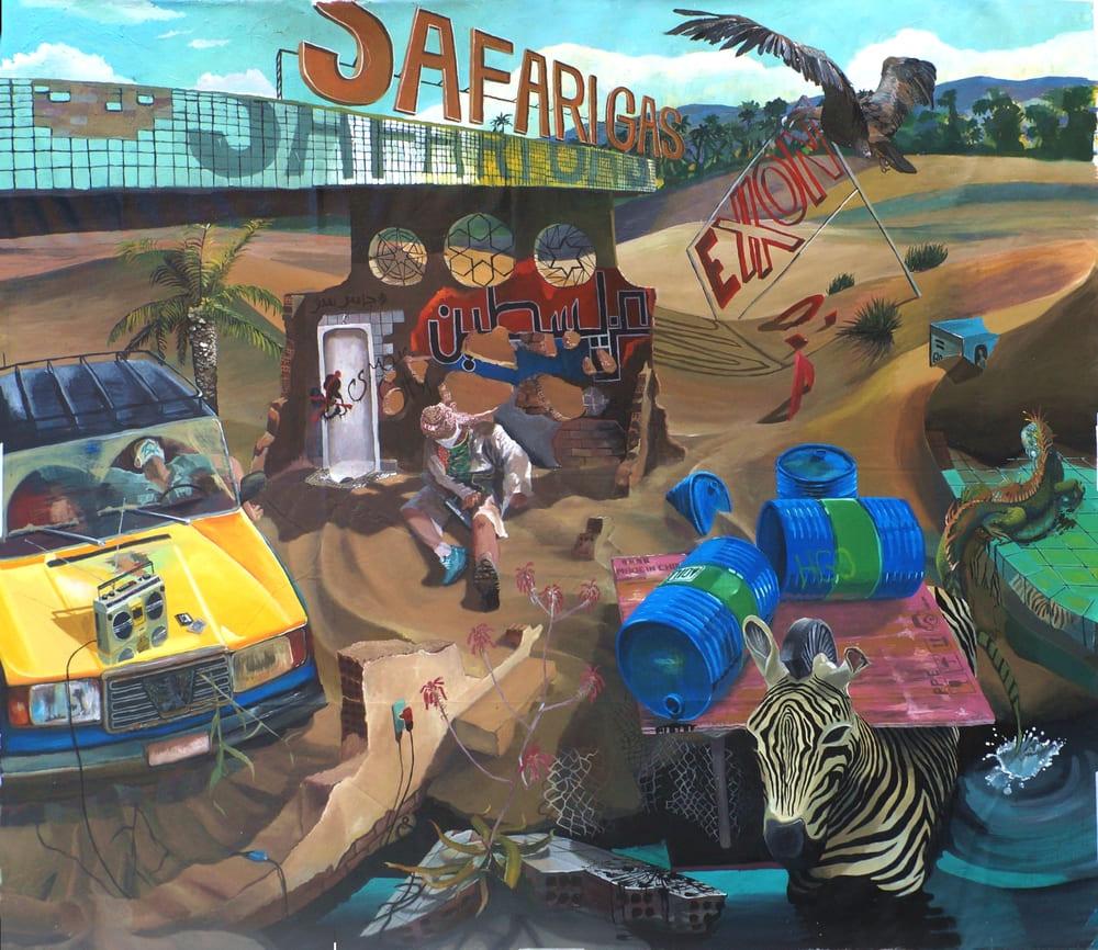 Leandro Cunha - Oil Clash on the Safari