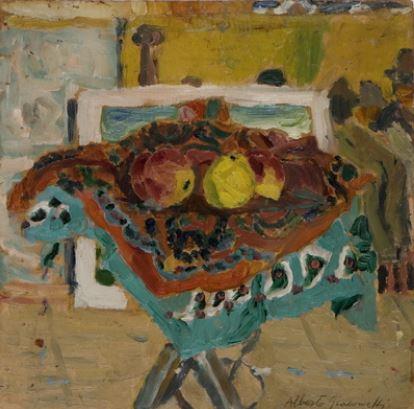 Natureza-morta com maçãs; Giacometti