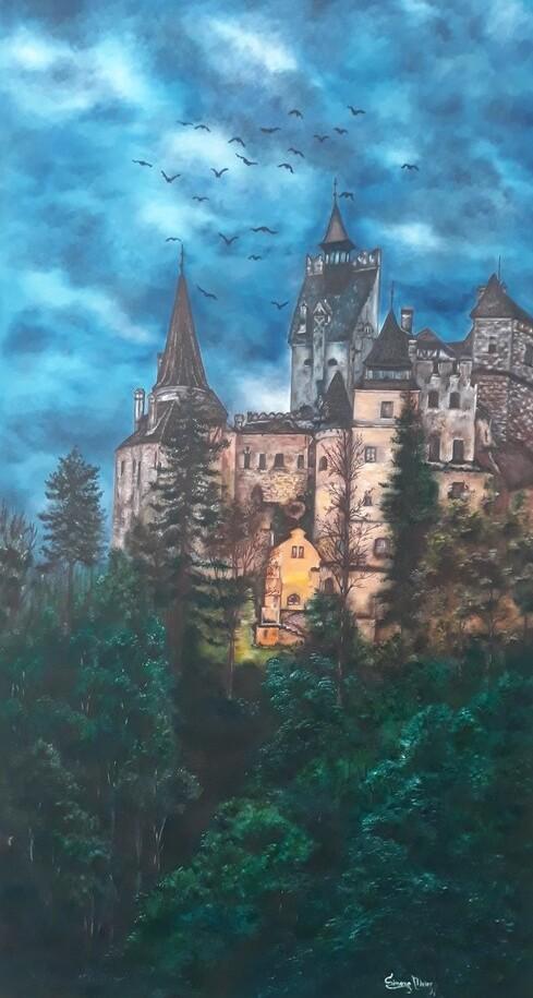 Simone Meier - Castelo de Bran. A mansão do Drácula