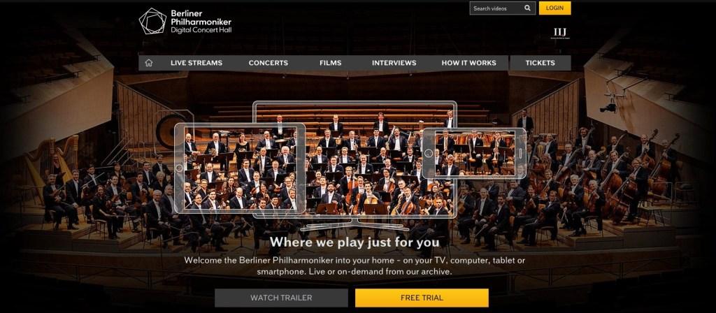Berliner digital concert hall