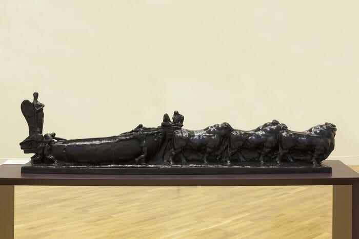 Fragmento: Templo da minha raça, 1921, fundição em 1998, Victor Brecheret | Foto: Isabella Matheus