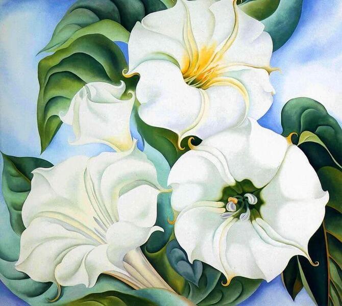 Georgia O'Keeffe - Jimson Weed, 1936