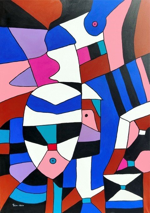 Edivan Ribeiro - Máscara sobre o Rosto