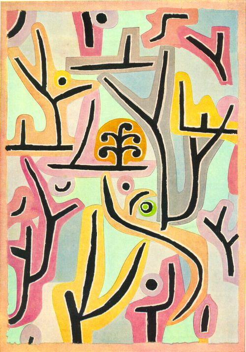 Como ser artista; Paul Klee - Park Near Lu