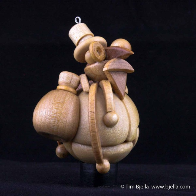 Tim Bjella - Snowman Ornament 2003