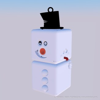 Snowman Ornament Concept by Tim Bjella-4