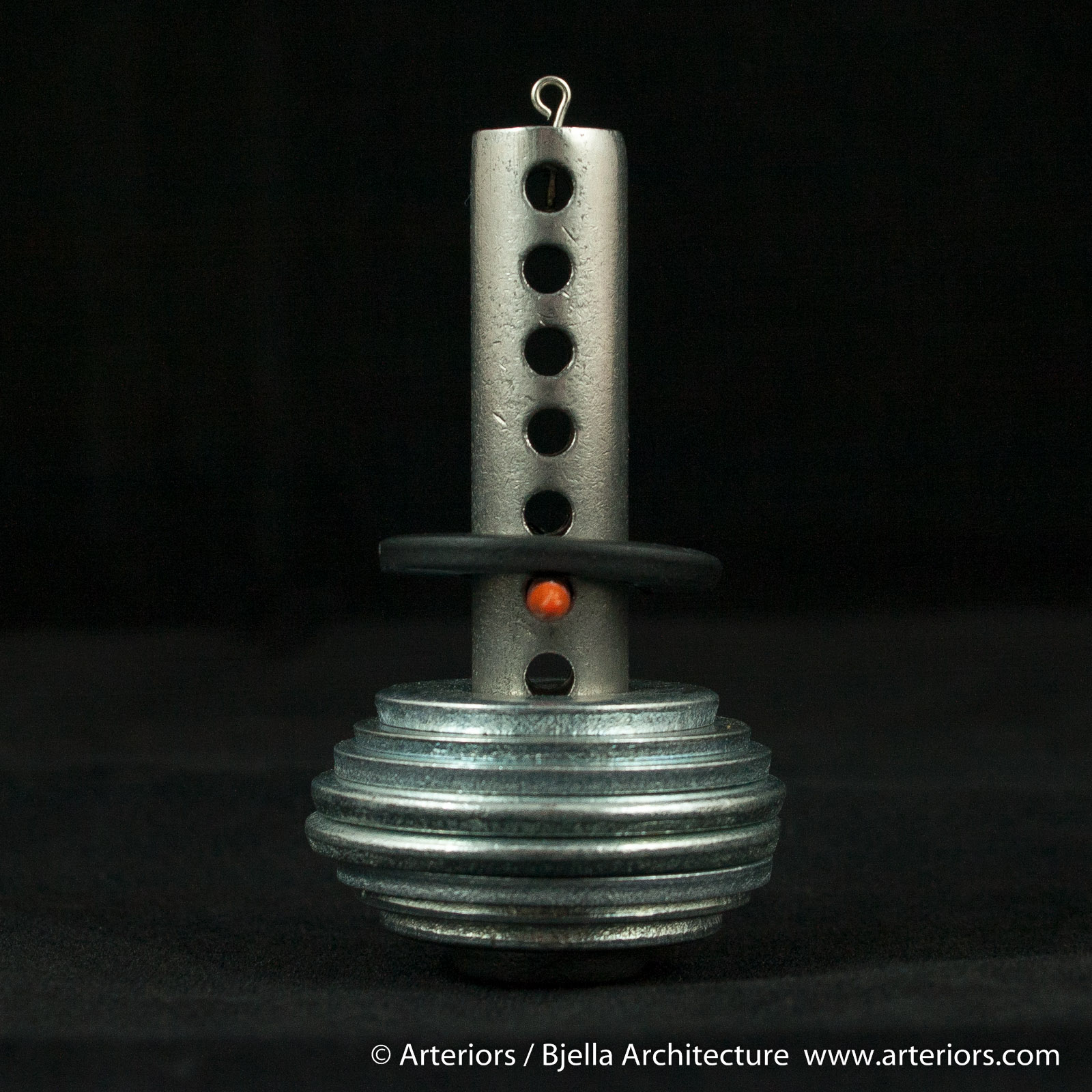Bjella Snowman Ornament - Day 6 - Metal-17