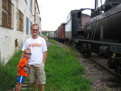 Bjella Family at Trainyard-1
