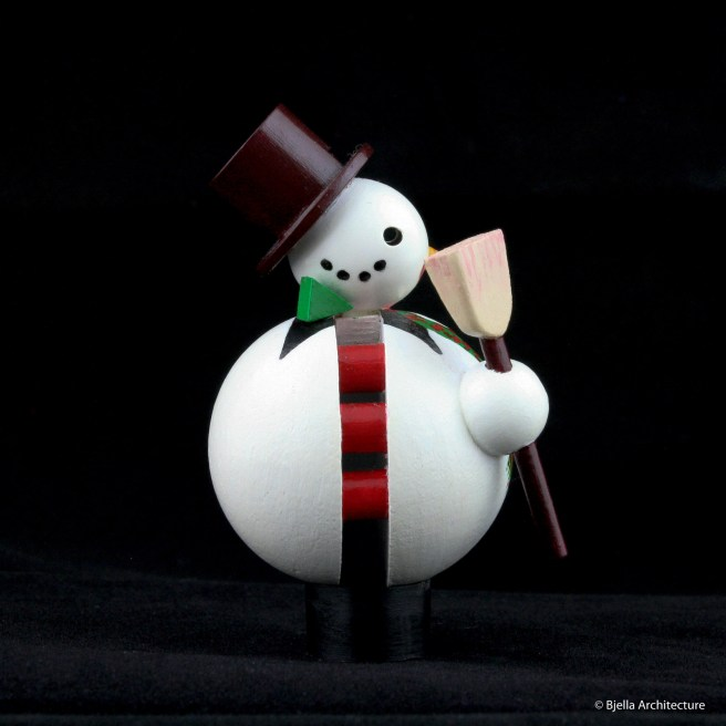 First Snowman Ornament by Tim Bjella-3