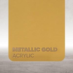 Acrílico Dourado Metalizado Flux Lasers