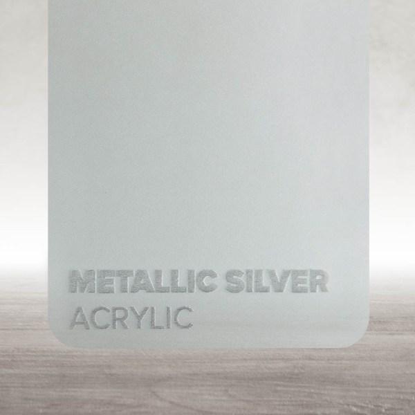 Acrílico Prateado Metalizado Flux Lasers