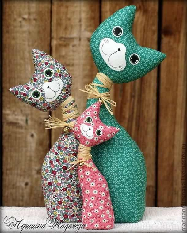 moldes-gatinhos-tecido