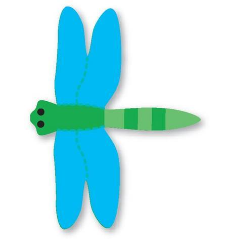 Molde libélula eva