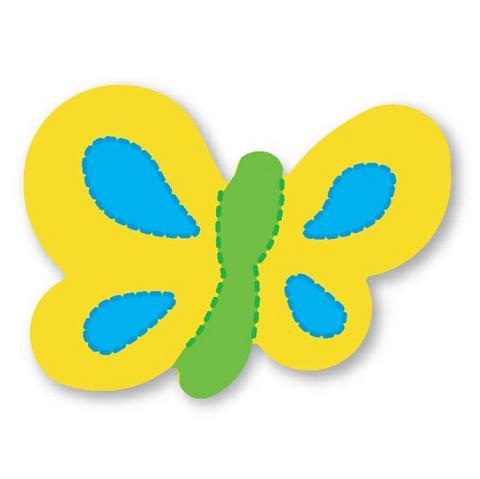 moldes eva borboleta