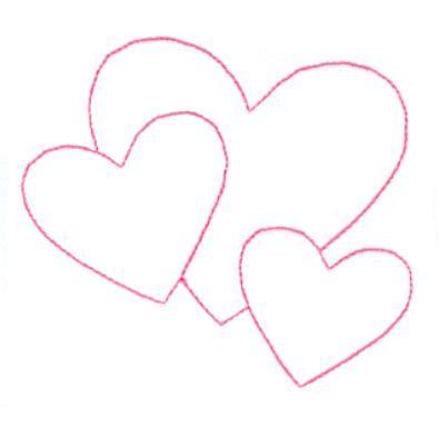 moldes de eva coração