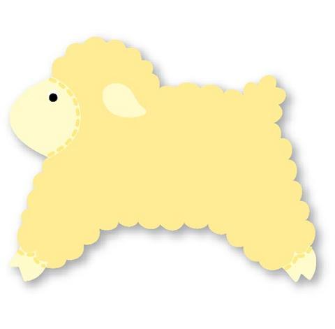 moldes de eva ovelha