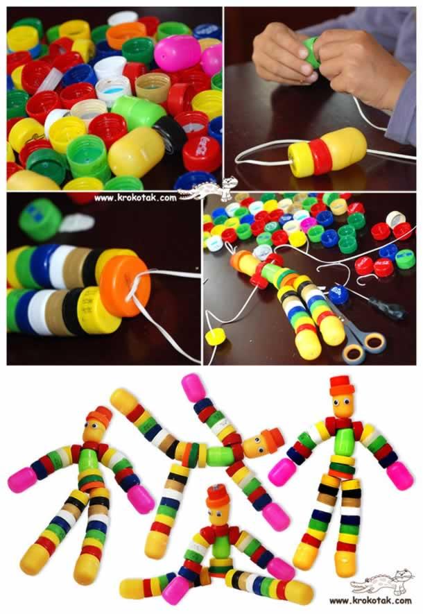 brinquedos-de-sucata-tampinhas
