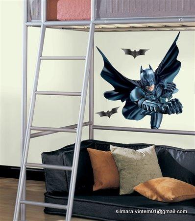 Quarto decorado batman