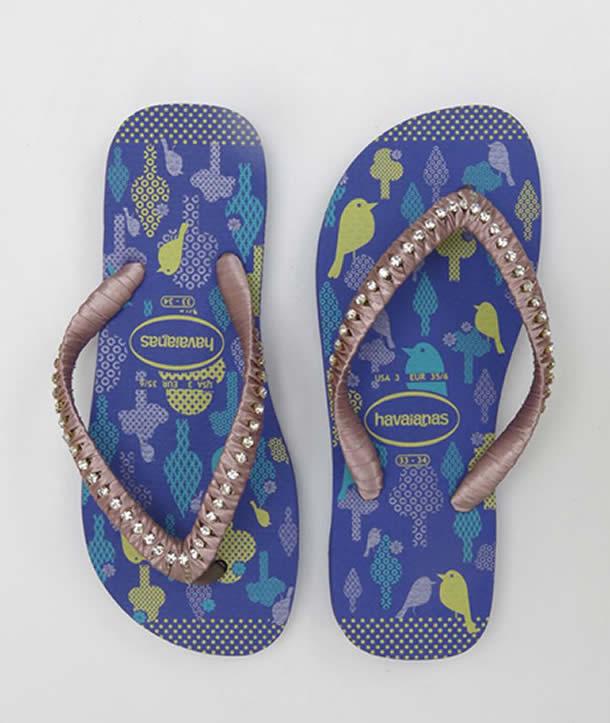 chinelos-decorados-passo-a-passo-azul