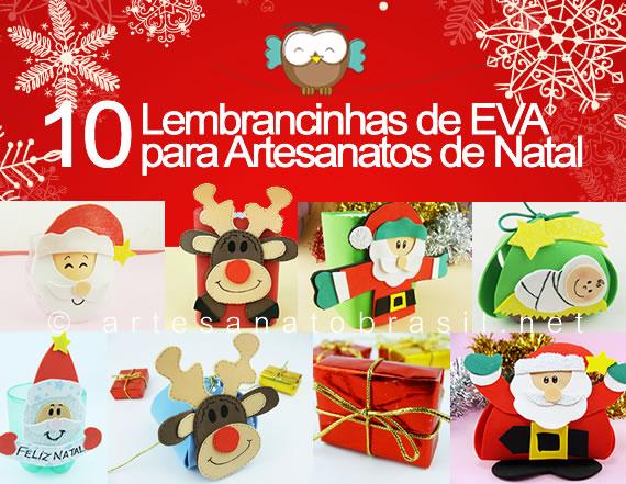 Lembrancinhas para artesanato de Natal