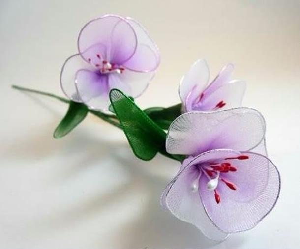 artesanato-com-meia-de-seda-flores