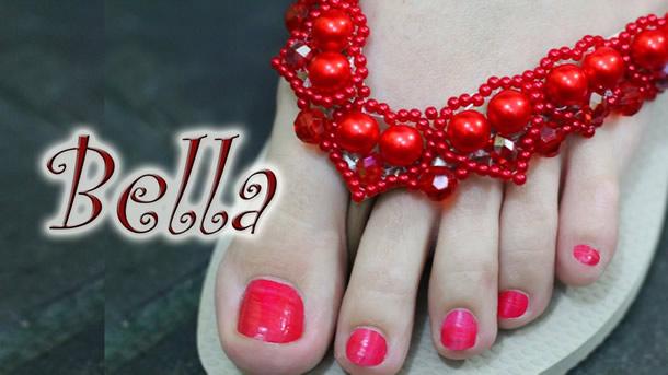 chinelos-bordados-passo-a-passo-perolas-vermelhas