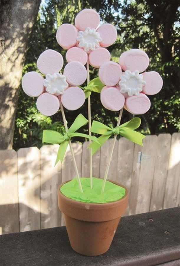 decoracao-com-marshmallow-flores