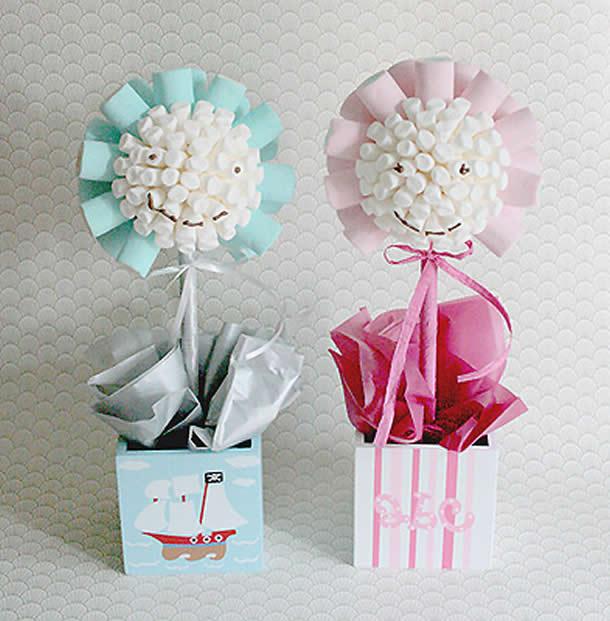 decoracao-com-marshmallow-topiario-bebe