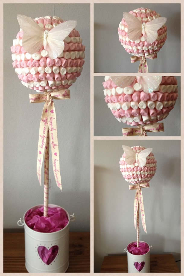 decoracao-com-marshmallow-topiario-borboleta