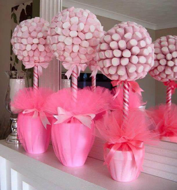 decoracao-com-marshmallow-topiario-rosa