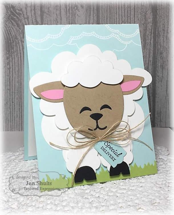 cartoes-de-pascoa-ovelha-feliz