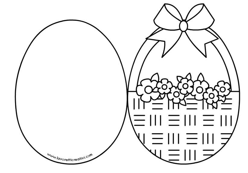 cartao-pascoa-cesta-flores-colorir