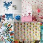 decoracao-de-parede-com-papel-ideias