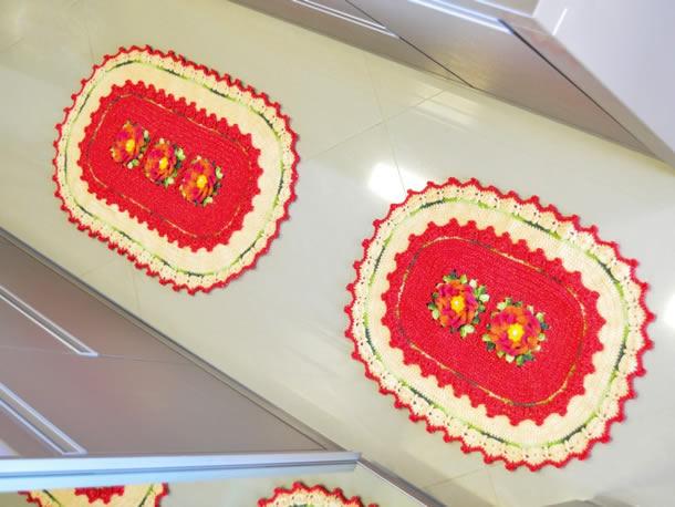 tapete-barbante-cozinha-vermelho