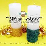 vela-de-natal-decorada-com-glitter