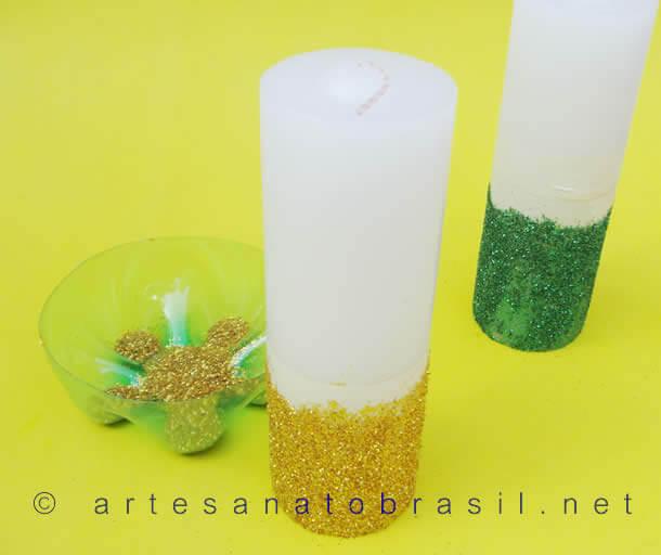 vela-de-natal-decorada-com-glitter-6