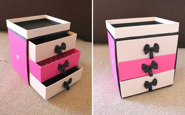 caixa-de-sapatos-decorada-maquiagem