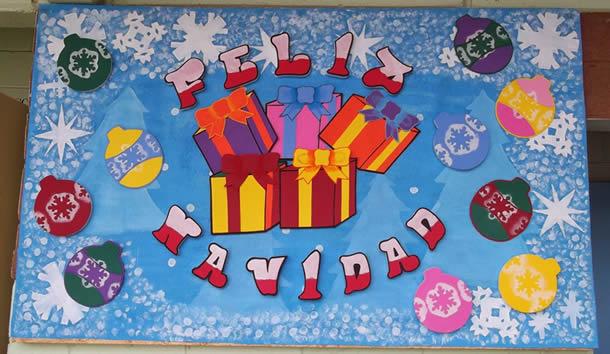 mural-de-natal-presentes