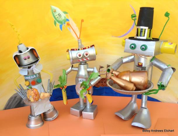 Robôs de Caixa, Rolos de Papel e Embalagens