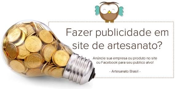 Anúncia e fazer publicidade em site de Artesanato