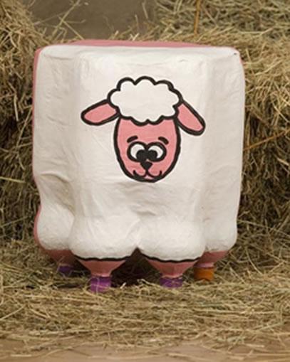 puff-de-garrafa-pet-ovelha