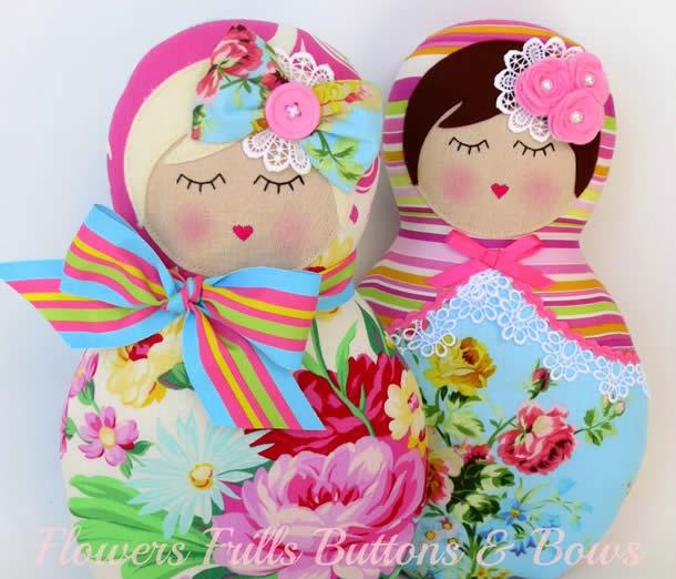 matrioska-bonecas-tecido-coloridas