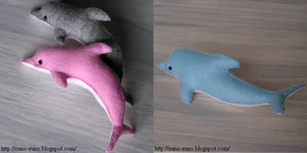 almofada-golfinho-de-feltro